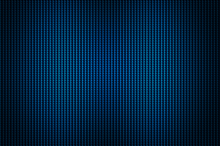 grille: blue chrome grille. metal background and texture. 3d illustration. Stock Photo