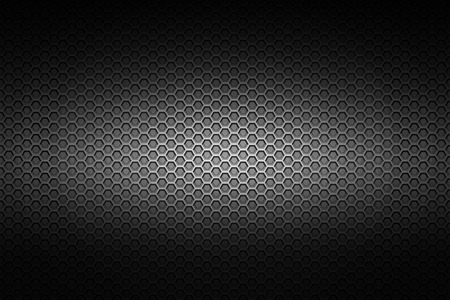 black chrome metallic mesh. metal background and texture. 3d illustration. Zdjęcie Seryjne - 63215791