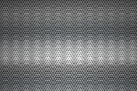 metal mesh: gray chrome metallic mesh. metal background and texture. 3d illustration. Stock Photo