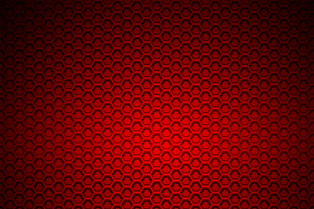 metal mesh: red chrome metallic mesh. metal background and texture. 3d illustration. Stock Photo