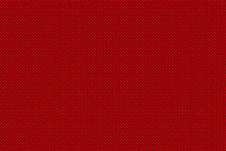 red carbon fiber background and texture for material design. 3d illustration.