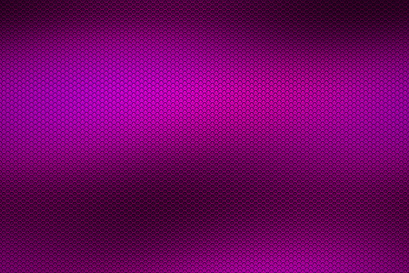 metal mesh: purple chrome metallic mesh. metal background and texture. 3d illustration. Stock Photo