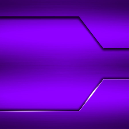 stainless: purple metal plate. metal background. 3d illustration.