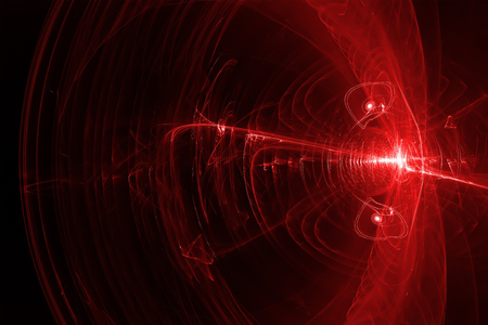 lighting effect: set 7 red glow energy wave. lighting effect abstract background.