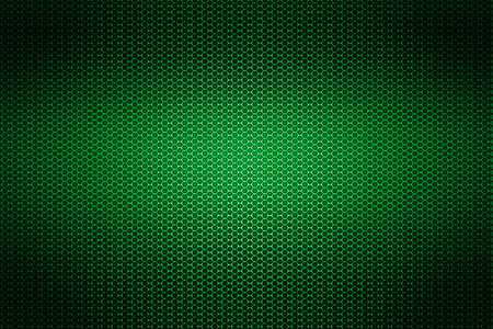 metal mesh: green chrome metallic mesh. metal background and texture. 3d illustration. Stock Photo