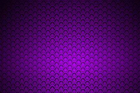 stainless: purple chrome metallic mesh. metal background and texture. 3d illustration. Stock Photo