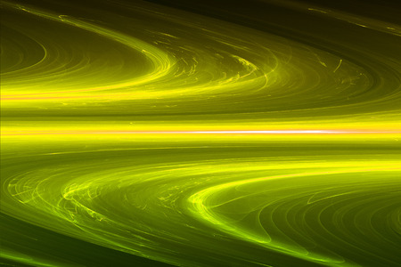 yellow circular glow wave. lighting effect abstract for game or scifi background.