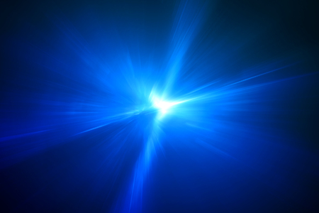 blue circular glow wave. lighting effect abstract for game or scifi background.
