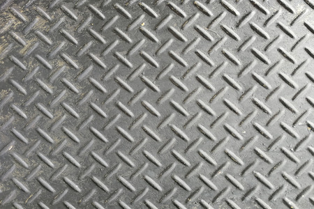 black metal background and texture. diamond plate.