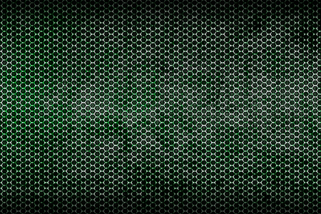 dark and rust metallic mesh background texture. 写真素材