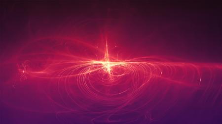 fioletowa fala energii blasku. oświetlenie efekt streszczenie tło. Ten obraz nadaje się do dowolnego celu, takiego jak nauka, fantastyka, sci-fi, horror, nadprzyrodzone itp.