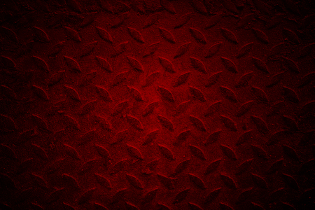 red chrome metal texture with scratch. look like cement or concrete texture. background and texture. Stock Photo