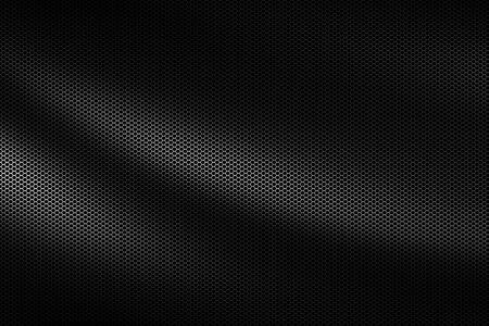 black wave metallic mesh. metal background and texture. 3d illustration design.