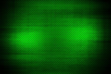 green geometric pattern. metal background and texture. 3d illustration design.
