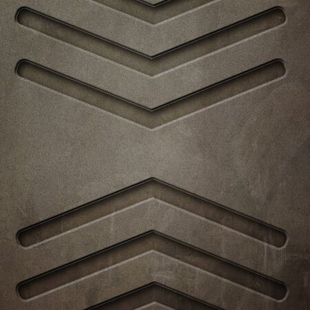 old rust metal background and texture. material design. 3d illustration.