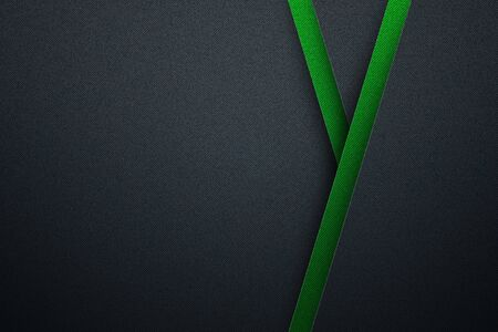 blue and green carbon fiber background and texture. material design. 3d illustration.