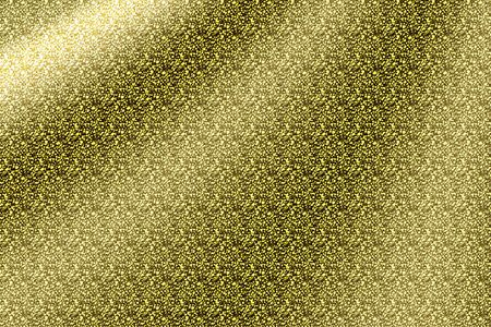 golden glitter background and texture. for party or holiday background. illustration banner design.