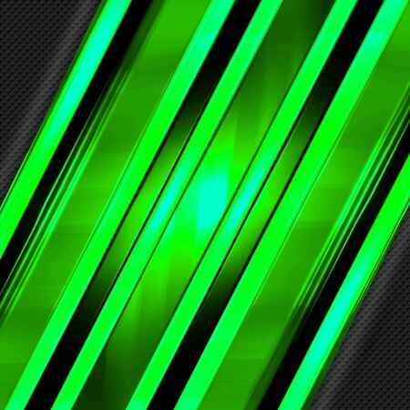green and black shiny metal background and mesh texture. metal background and texture. 3d illustration design. luxury and shiny for game and futuristic template. square ratio.