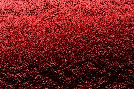 red rock wall with light and shadow. grunge and horror background and texture. 3d illustration.