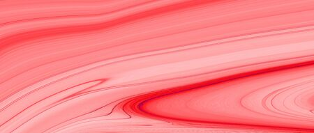 red and white liquid color oil paint. abstract background and texture. illustration banner. extreme widescreen.