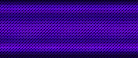 dark purple with shadow and light. metal background and texture. 3d illustration. extreme widescreen ratio.