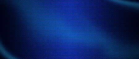 dark blue with shadow and light. metal background and texture. 3d illustration. extreme widescreen ratio. Zdjęcie Seryjne