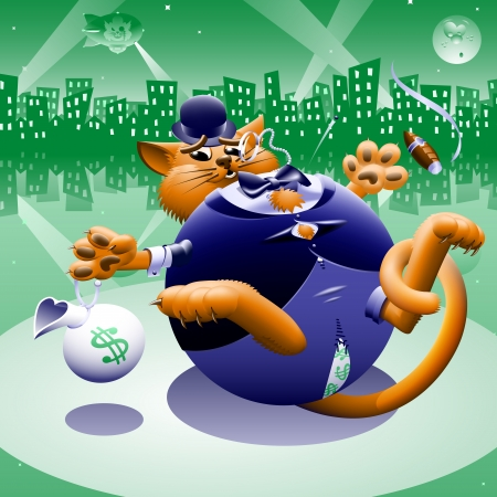 bowler hat: Fat Cat 2: Greenback City