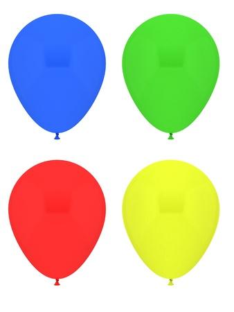 globos fiesta: Globos del partido