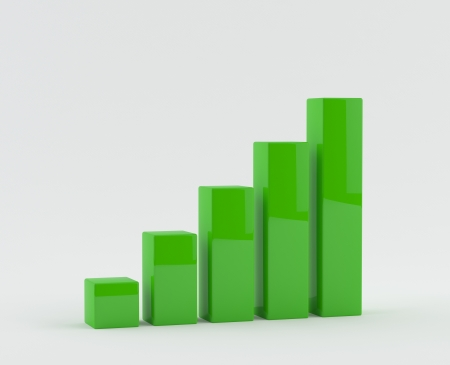 Business growth Graph - Chart photo