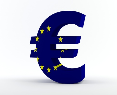 welth: Euro sign  Stock Photo