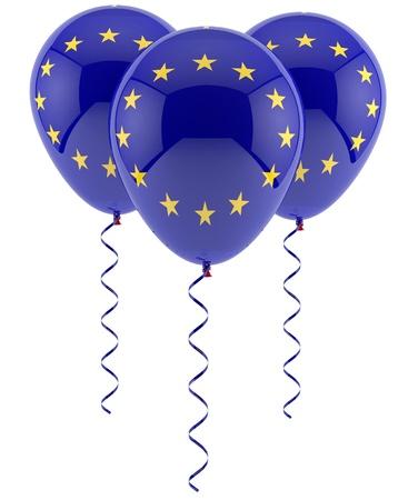 EU balloons - flag