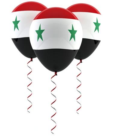 Syryjski: Syryjska balon flag