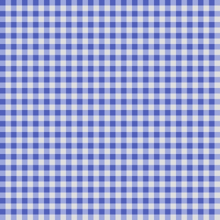 gingham pattern: Seamless checkered Gingham pattern -  Blue and White Stock Photo