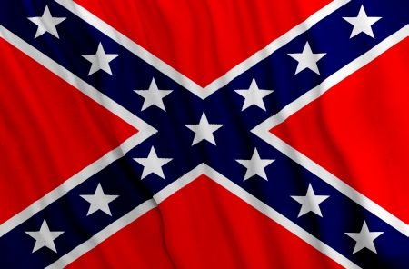 confederacy: Southern flag - Battle Flag of the Confederacy