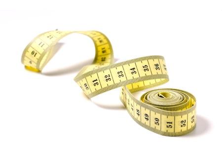 Meetlint in centimeters - CM Stockfoto