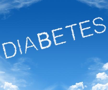 Suikerziekte Stockfoto