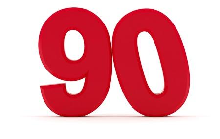 90: Number 90 - Tilted zero