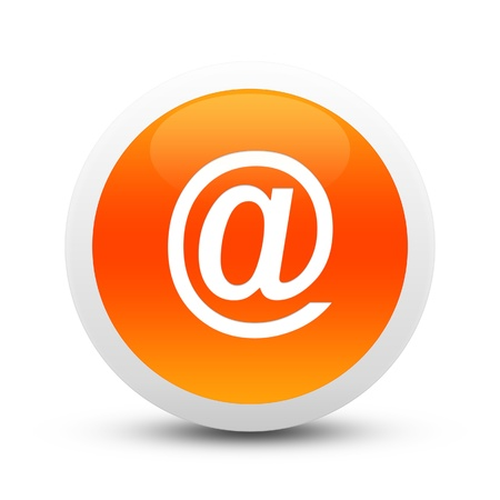 Glossy mailsign button photo