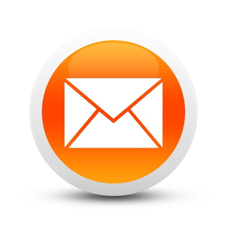 Glossy email button photo