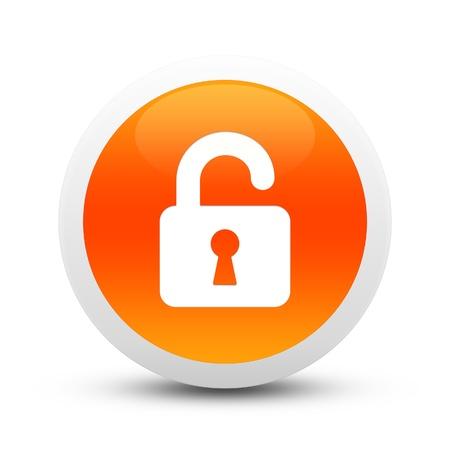 Glossy lock button