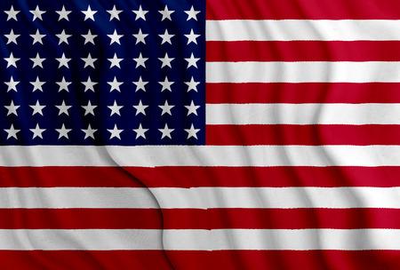 USA - American flag Imagens