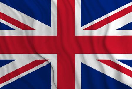 British flag Standard-Bild