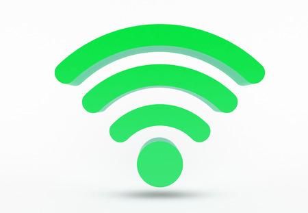 WiFi icon - symbol Standard-Bild