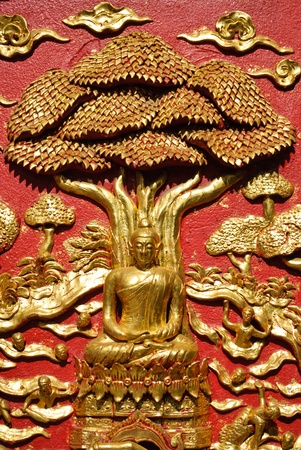 Lord of buddha under the tree