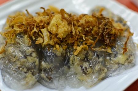 cuon: Banh Cuon steamed rice rolls