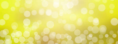 Lens Flare, Bokeh against Gradient Background stock illustration. Yellow shining background.