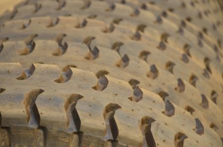 tire tread: pattern of tire tread