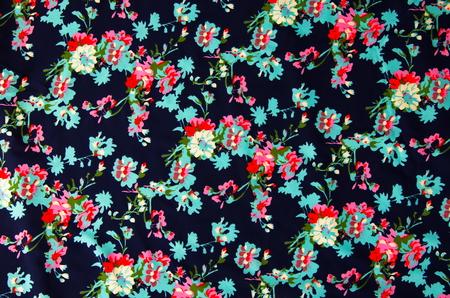 beautiful style  flowers on cloth fabric.