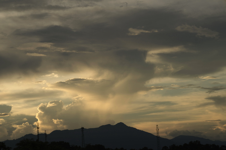 Cloud nature background. 写真素材