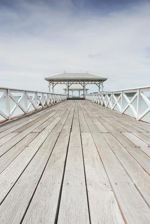AsDang Bridge at Koh Si Chang Island photo